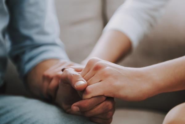 treatment holding hands california