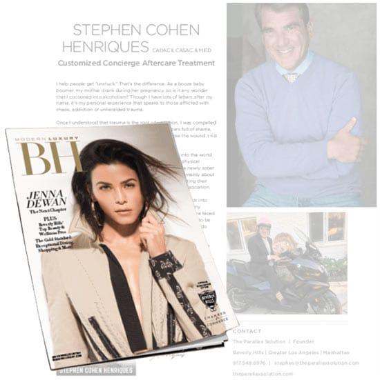 Media - A person in a newspaper - Magazine